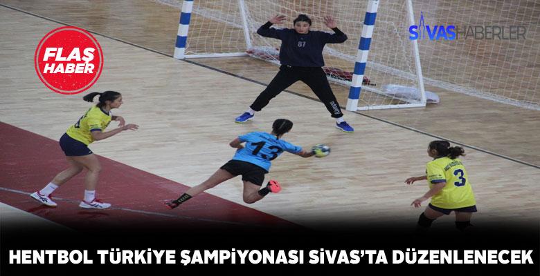 Sivas Hentbol Türkiye Şampiyonasına ev sahipliği yapacak