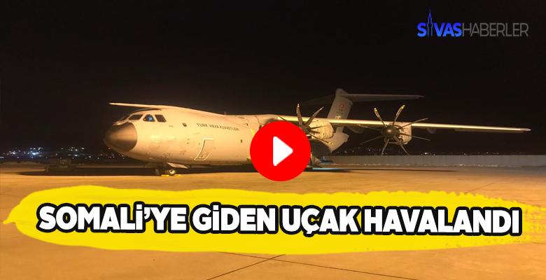 Somali'deki yaralı vatandaşlarımızı getirecek uçak kalkış yaptı