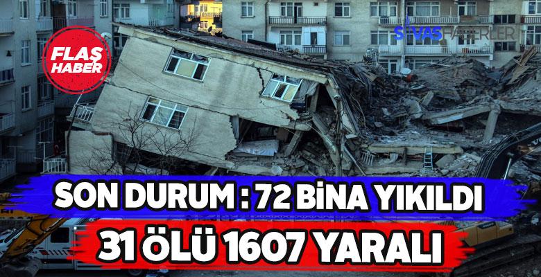 AFAD Elazığ depremiyle ilgili nihai bilançoyu açıkladı