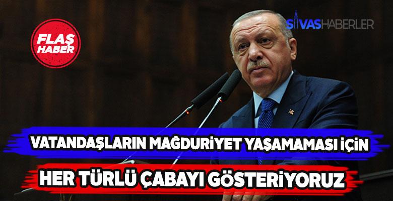 Erdoğan'dan Elazığ depremine ilişkin açıklama