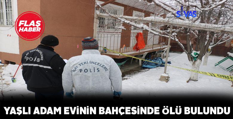 Sivas'ta esrarengiz ölüm olayı