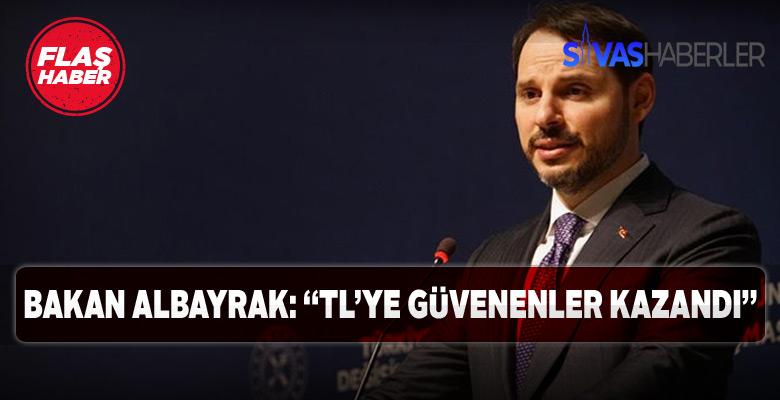 Berat Albayrak Türk Lirası yatırımcısının karını açıkladı