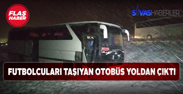 Sivasspor altyapı futbolcuları kaza geçirdi!