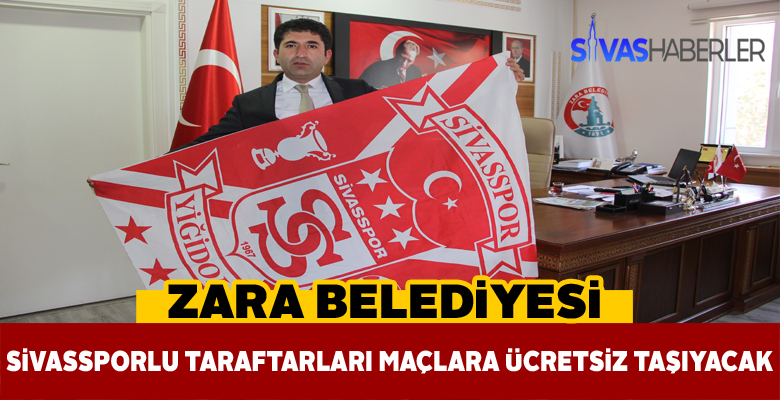 Zara Belediyesinden Sivassporlu taraftarlara müjde!