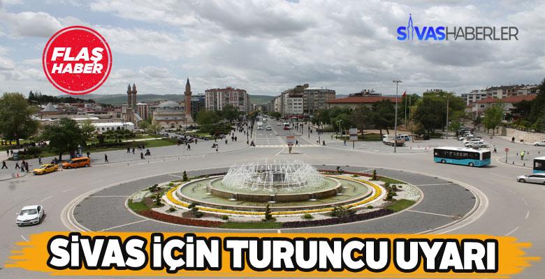 Çarşamba sabahı Sivas'ta fırtına bekleniyor