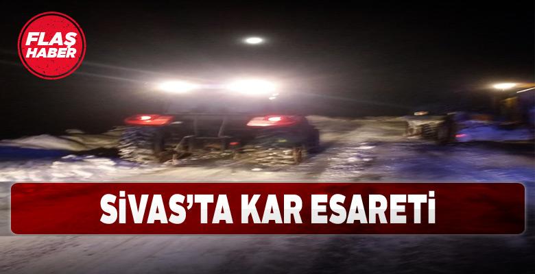Sivaslılar dondurucu soğuğun etkisinde kaldı