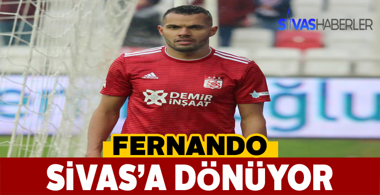 Fernando Sivas'a dönüşünü sosyal medyadan müjdeledi