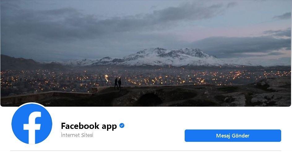 O ilimiz Facebook Türkiye sayfasında kapak oldu