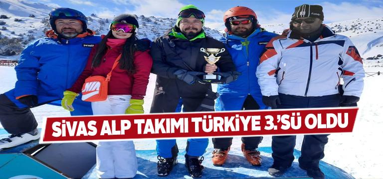 Sivas Alp Takımından gururlandıran başarı
