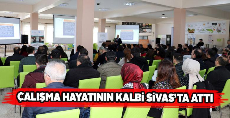 Sivas'ta İnsan Kaynakları Platformu 2. toplantısı gerçekleştirildi