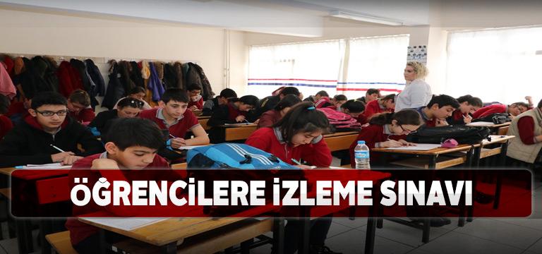 Sivaslı 8. sınıf öğrencileri izleme sınavına girdi