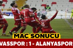 Sivasspor kritik Alanyaspor maçından 3 puan çıkardı