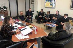 Sloven üniversite ile eğitim işbirliği toplantısı yapıldı