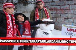 Sivasspor'un yüreği büyük miniklerinden sürpriz VAR tepkisi