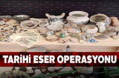 Sivas'ta tarihi eser kaçakçısı bir şahıs yakalandı