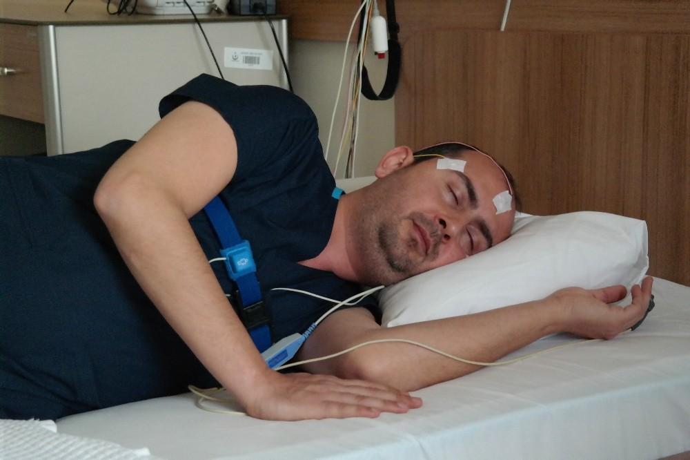 Uyku sıkıntısı çekenlere bu laboratuvarda kendinden geçiyor