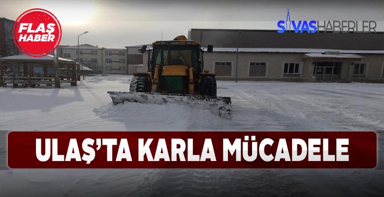 Ulaş'ta tüm köy yolları ulaşıma açıldı