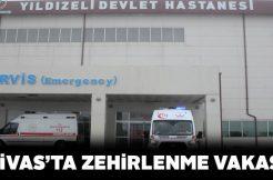 Sivas'ta soba gazı 5 kişiyi zehirledi