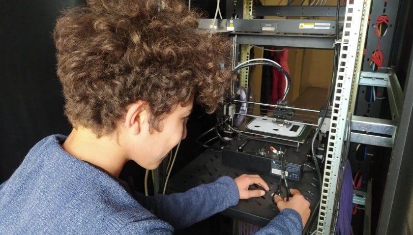 Ortaokul öğrencileri robotik kodlamada tarih yazdı