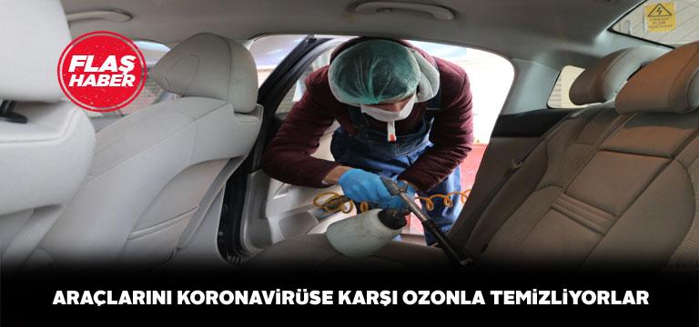 Araçlar ozon temizliği sırasına girdi