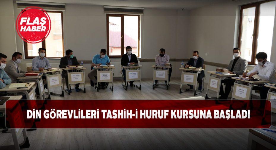 Sivas'ta 28 din görevlisi kursa başladı