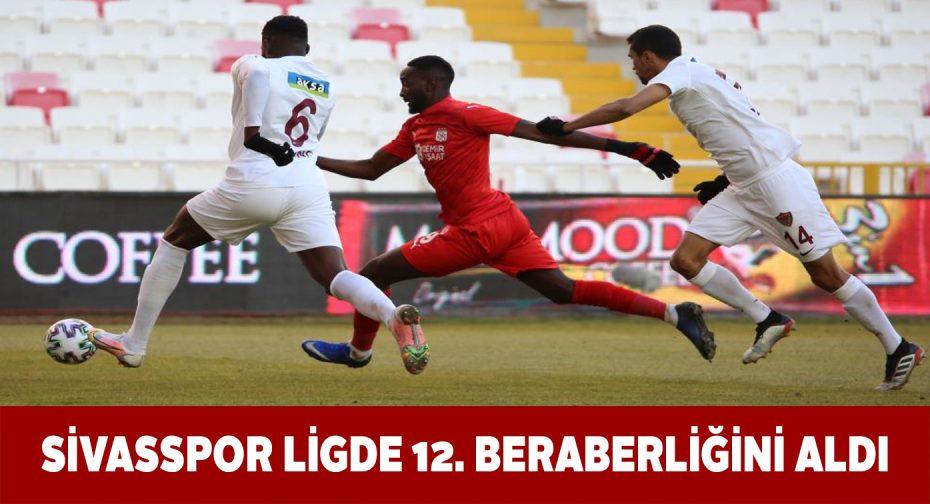 Yiğidolar Hatayspor ile 1-1 berabere kaldı