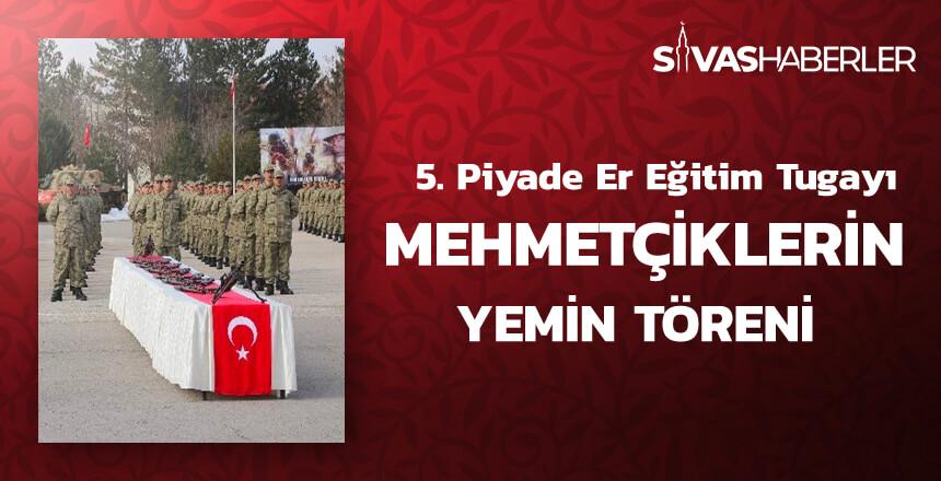 5. Piyade Er Eğitim Tugayı Mehmetçiklerin Yemin Töreni
