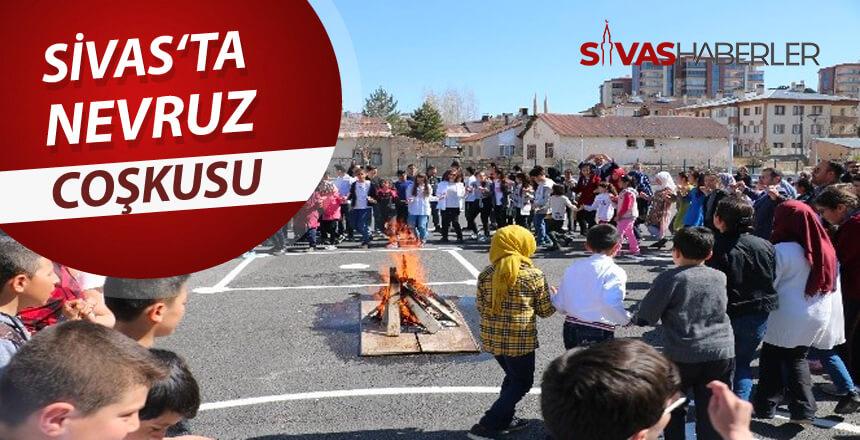 Sivas'ta halk Nevruz coşkusunu yaşıyor