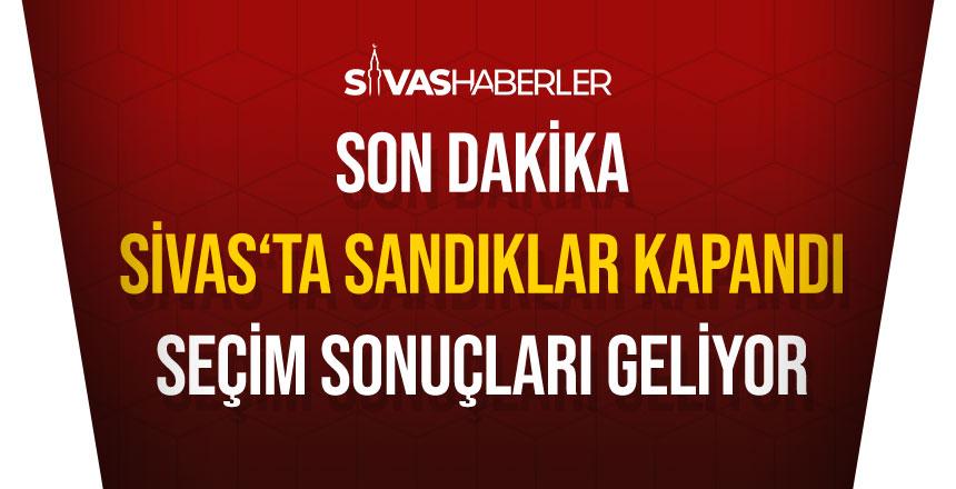 Sivas'ta Oy verme işlemi bitti Sandıklar kapandı