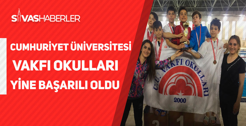 Cumhuriyet Üniversitesi Vakfı Okulları Yine Başarılı Oldu!