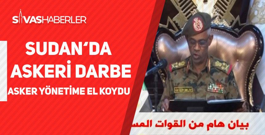 Sudan'da Askeri Darbe, Asker Yönetime El Koydu