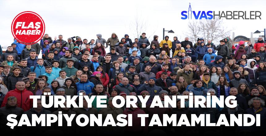 Türkiye Oryantiring Şampiyonası Sivas'ta Tamamlandı