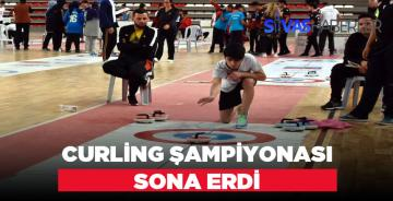 Sivas'tan Curling Şampiyonu Çıktı