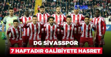 DG Sivasspor Galibiyet Hasretine Son Vermek İstiyor