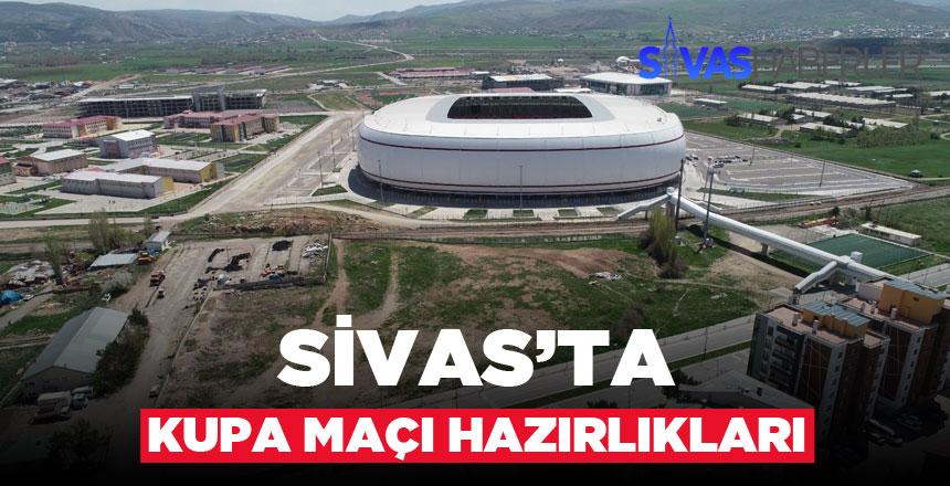 Ziraat Türkiye Kupası Finali Hazırlıkları