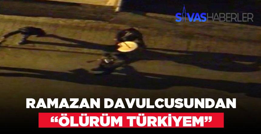 """Sahura Mahalleli """"Ölürüm Türkiye"""" Şarkısıyla Kalktı"""