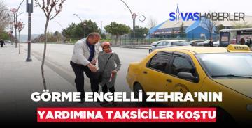 Ulaşımda Sorun Yaşayan Zehra'ya Taksiciler Yardım Etti